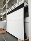 "300"" projector screen/large outdoor projection screens/electric screen"