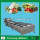 Fruit & Vegetable Washing Drying Waxing Sorting Processing Machine
