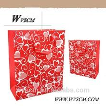 lingerie shopping paper bag with customer logo