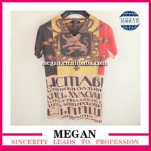 2014 new hot sale hottest venda t-shirt impressão de transferência de calor de calor