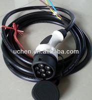 Uchen factory provide IEC 62196-2 electric vehicle fast chargers/EV iec 62196 ev car outlet plug