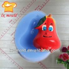 cartoon fruit silicon molds cake decorating