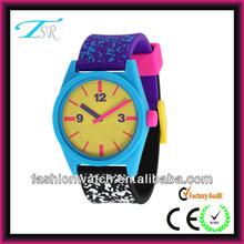2014 new design, colorful women watch, geneva silicon girls watch. Korea watch