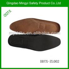 耐久性のある快適な革製の靴衝撃吸収インソール