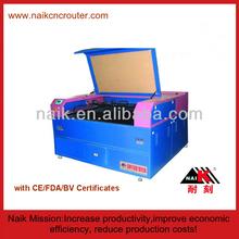 Naik 80 W sapato máquina de corte a laser para publicidade / decoração TC-1390
