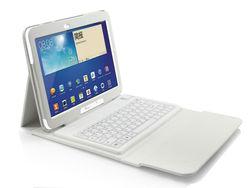 2.4GHz bluetooth keyboard for Samsung Galaxy Tab 3 10.1 P5200&P600 with USB port