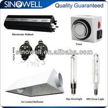 600 watt light reflector hps kit for plant growth