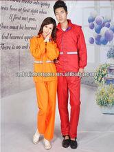 reflective workwear safety raincoat