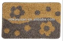 pp bath mat /door mat /floor mat /kitchen mat with anti-slip backing