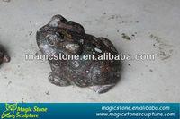 stone garden ornaments frog figurine for decoration