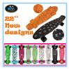 22/27'' New Water Transfer Plastic Fish Skateboard Mini Cruiser with Design