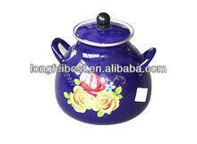 High quality enamel pot slowe cooker soup Enamel casserole pot