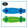 22'' PC Transparent Plastic Fish Penny Skateboard Mini Cruiser