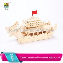 Toywins dragon boat special promotional gift child paper puzzle