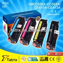 Use For laserJetCP2020/2024/2025/2026 Toner Cartridge 530A 531A 532A 533A/410A 411A 412A 413A With 100% Defective Replacement