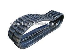 Construction machinery excavator Sunward rubber tracks