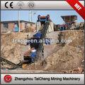 construção de estradas pequenas artificial de areia e cascalho de linha de produção agregada 100 tph
