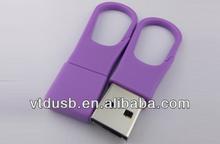 Purple keyring shape usb stick pens for promotional models stick pen driver key