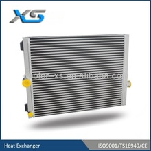 bar and plate high pressure compressor cooler