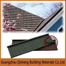 Stone coated aluminium roof tile bitumen