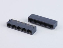 RJ45 modular,RJ45 connector, 4p/6p/8p ,rj11 pcb jack 0109001