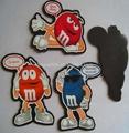 Etiqueta dos desenhos animados com íman; magnética etiqueta dos desenhos animados
