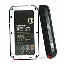 for iPhone 5 5S Metal Aluminum Gorilla Impact Cover Case