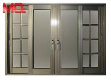 frosted glass aluminium sliding door picture of aluminum window and door