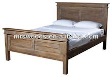 recycled elm Platform Bed queen