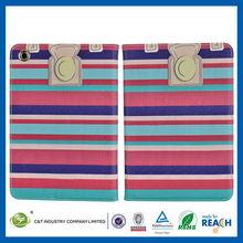 C&T Innovative rainbow like stylish exquisite flip pu case for ipad mini