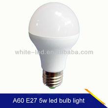 house / meeting room/store decoration light led bulb 5w/7w E27 bulb