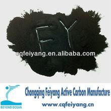 High quality active carbon low ash content