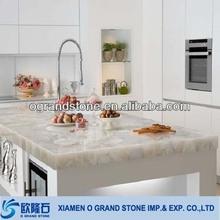 artificial table quartz countertop white sparkle quartz stone countertop
