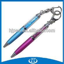 high quality key chain New mini metal fancy Luxury Crystal Pen