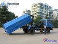 nuevo 4x2 10 cbm tire del brazo camión de la basura de dibujo para la venta