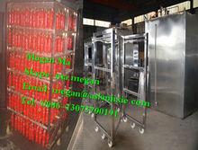 Industrical smoked beef machine/beef patty smoked machine