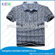 fashionable man polo tshirt
