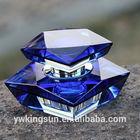 Top sale refillable classic elegant crystal car perfume bottle