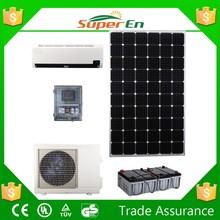 solar power air conditioning, 100% DC 48V, 12000BTU soalr air conditioner