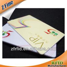 full color cr80 embossment pvc card supplier