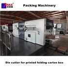 Die cutter for printed folding carton box
