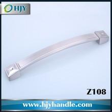 furniture hardware modern simple design bedroom zinc furniture handle