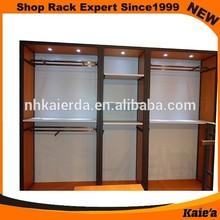 New kaierda retail garment shop display equipment/garment display equipment
