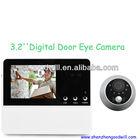 SHENZHEN Factory Smart 3.2 inch Good Night Vision Digital Door Viewer Peephole