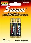 LR6 AA 1.5V alkaline batteries