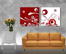 Cheap wholesale custom flower oil painting canvas