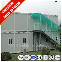 Modern design prefab modular container houses