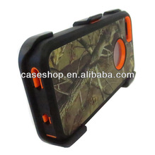 Camo real tree Case for iPhone 5