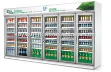 Luxury beverage display cooler for supermarket