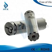 Wholesale Price e-cigarette top mech clone mod /1:1 clone tree of life mod fit 18350/18490/18500 battery